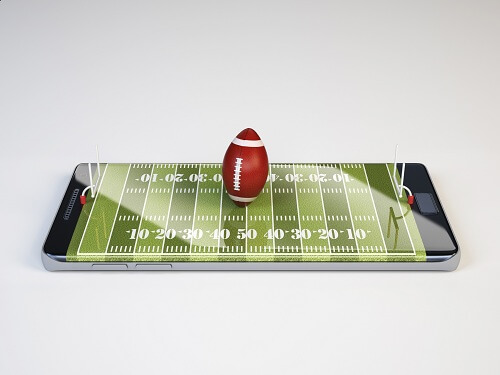 NFL live betting