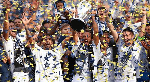 Major league soccer cup CA