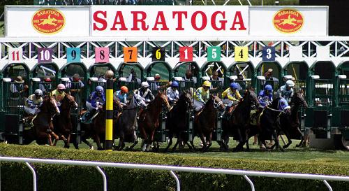 Saratoga Racetrack Entries