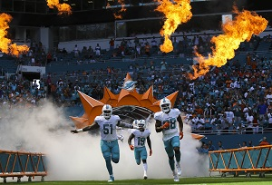 AFC East Division Miami Dolphins
