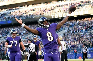 AFC North Division Baltimore Ravens