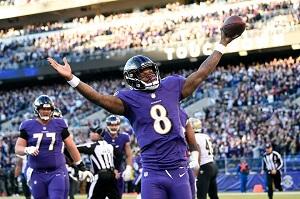 AFC North Division Baltimore Ravens