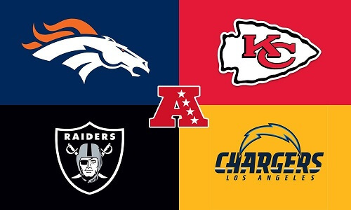 AFC West Football Teams