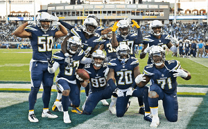 AFC West Los Angeles Chargers