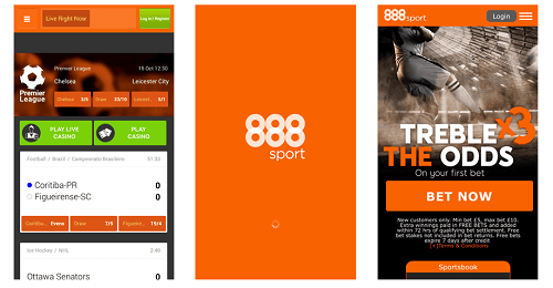 888 Sports Mobile Betting App