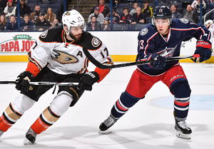 Anaheim Ducks at Columbus Blue Jackets