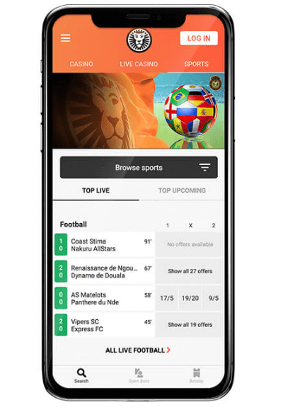 LeoVegas Mobile Sports Betting App Canada