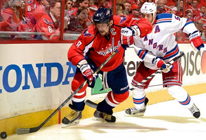 New York Rangers at Washington Capitals Odds