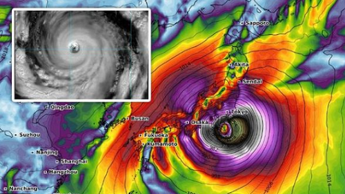 Rugby World Cup Matches Cancelled as Typhoon Hagibis Approaches Japan