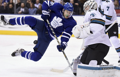 San Jose Sharks at Toronto Maple Leafs Odds