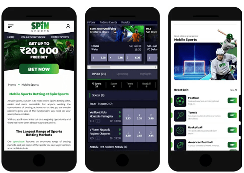 Spin Sports Betting App Canada