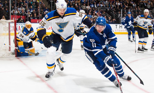 St. Louis Blues at Toronto Maple Leafs