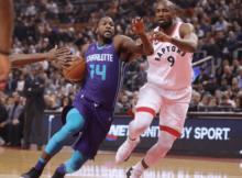 Charlotte Hornets vs. Toronto Raptors