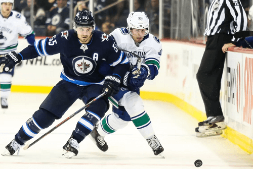 Winnipeg Jets at Vancouver Canucks Odds