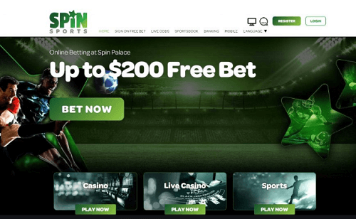 Spin Sports Betting Site Canada