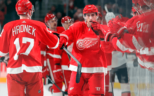 NHL Detroit Red Wings Betting Lines